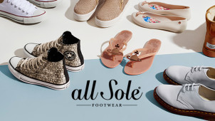Up to 25% Off Items in the Sale at allsole.com