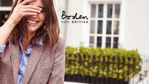 20% Off for a Friend Plus Free £15 Voucher for You with Friend Referrals at Boden