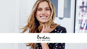 30% Off Orders at Boden