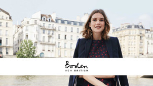 Free Delivery + Free Returns on Orders at Boden