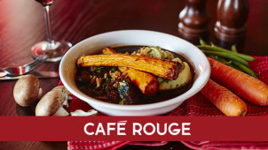 2nd Main for £1 at Cafe Rouge
