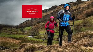 Up to 50% off in the Sale Plus Free Delivery on Orders Over £30 at Cotswold Outdoor