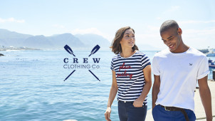12% Off Orders Plus Free Delivery at Crew Clothing