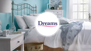 Up to 50% off in the Winter Sale at Dreams Beds
