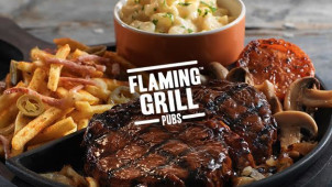 40% off Mains at Flaming Grill