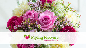 15% off Bouquets at Flying Flowers