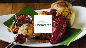 Two Chicken Dishes & Two Drinksfor £20 After 8pm at Harvester