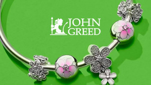 15% Off First John Greed Collection Orders at John Greed Jewellery