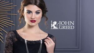 Up to 50% off in the Sale at John Greed Jewellery