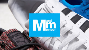 Enjoy 70% Off Trainers in the Sale at M and M Direct IE