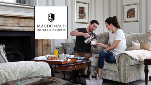 2 Nights for 1 on Selected Hotel Bookings at Macdonald Hotels