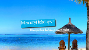 2 Weeks for the Price of 1 at Mercury Holidays