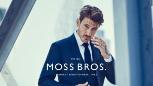 15% off Orders Over £155 at Moss Bros