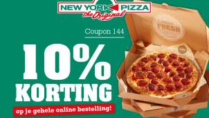 10% korting op je bestelling met deze code!
