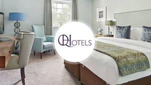 One-Night Special Romantic Package Booking from £144 at QHotels