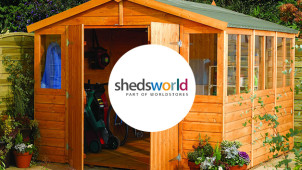 £10 off Orders Over £300 at Shedstore
