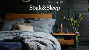 25% off Plus Extra 10% off with Orders Over £85 at Soak & Sleep