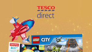 Up to 60% Off Children's Toys in the Clearance at Tesco Direct