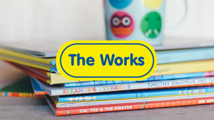 25% Off Selected Book Orders Over £10 at The Works