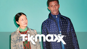 Up to 60% Less on Home and Fashion Plus Free Delivery Over £75 at TK Maxx