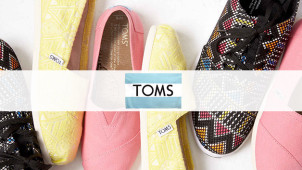 Summer Savings! Huge Discount on Orders in the Sale at TOMS