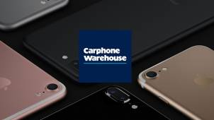 £100 off Upfront Cost of iPhone 7 Contracts at Carphone Warehouse