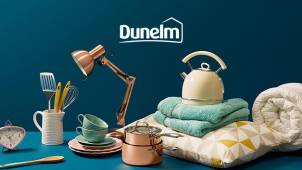 30% off Selected Furniture and Home Orders Plus Free Delivery Over £49 at Dunelm