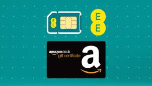 £70 Amazon Voucher with EE Contracts Over £45.99 - including iPhone at EE Mobile