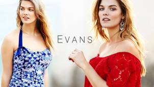 Free Delivery on Orders Over £35 at Evans