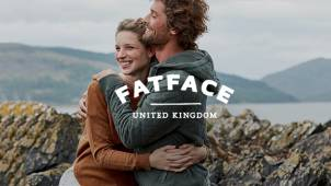 Free Delivery on All Orders at Fat Face