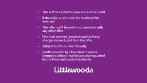 £25 Account Credit with First Credit Orders Over £50